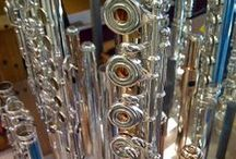 Repair My Flute / Pins from our flute repair blog.  Wondering how flutes and piccolos are repaired?  Take a look!