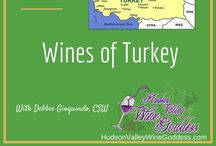 The Tipsy Gourmet / A board about Turkish Wine and Summer Cocktails.