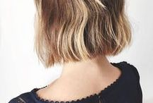 Lobs   / That medium length, overly vogue cut that is around your shoulders.
