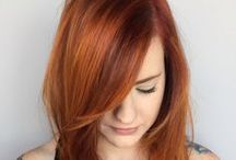Fire | Above / Red tones | warm colours | highlights | ombre