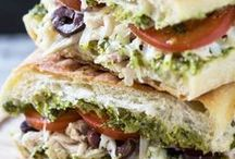Sandwich Recipes / I'm pinning my favorite sandwich recipes! I love a good sandwich for lunch or for dinner. You'll find hot and cold sandwiches. There are plenty of panini recipes and wraps. Sandwiches can be healthy and hearty and make a great meal or snack!