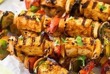 Grilled Recipes / I'm pinning my favorite grilled recipes! There are lots of ideas for your summer grilling season. I love healthy grilled vegetables, chicken, and steak. These recipes are easy to make and mouthwatering.