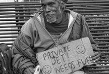 Humanity   / People, living.