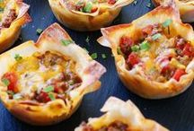Party Recipes / I'm pinning my favorite party recipes! You'll find all kinds of fun, easy, and healthy appetizers and finger foods for a crowd. There are recipes for the summer months and for fall and holidays like Christmas and New Year's Eve and desserts as well. Lots of party recipe ideas here!