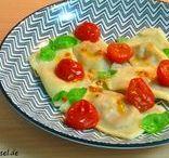 *Pasta / vegetarische Nudelgerichte - Rezepte