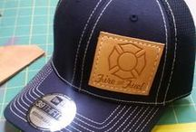 Fire And Fuel Apparel Hat's & Beanies / Firefighter hats and beanies for men and women by Fire and Fuel Apparel. Our leather patch hats are hand made by firefighters. See additional apparel at www.fireandfuelapparel.com.