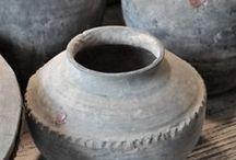 oud aardewerk / vazen, schalen, kruiken en potten