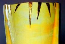 LIGHTING SCONCES (2) - METALLIC - DICHROIC & FUSING - DECORATION & INTERIOR DESIGN - GLASS ART / This art glass decorative serie has been made using the Glass Fusing Technique with Colours or Metals as Titanium, Gold and Platinum. These sconces feature a mix of textured glass ticked layers, creating a warm colored glow. It is ready to be placed. Please, feel free to contact us for a quotation, shipping fees and further details to: josepsanjuanpla@gmail.com