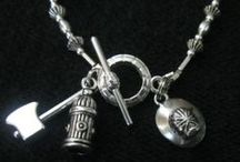 Firefighter Jewelry / Firefighter, RN, Nurse and Police Jewelry By Fire And Fuel Apparel. Go to www.fireandfuelapparel.com to see additional items.