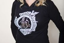 Just For Women / Fire and Fuel Apparel apparel designed for women.