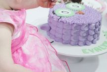 Celebration - Evalyn's 1st Birthday / My daughters first birthday, inspiration ideas, party food and decorations