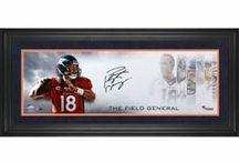 Field General Collection / Our Field General Collection featuring unique autographed photos signed by the greatest in sports, including Tom Brady, Peyton Manning, and more!