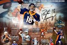 Peyton Manning Memorabilia and Collectibles / Fanatics Authentic exclusive athlete Peyton Manning sports memorabilia and collectibles.