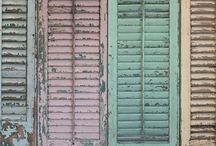 ★ Shutters and old doors ★
