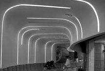 Interior design / Neon applications in light design