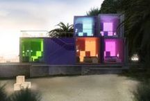 Architecture / Neon applications in architecture