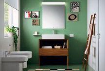 Mobili per il bagno / Regala un tocco distintivo al tuo #bagno, combinando #design e funzionalità
