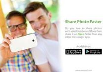 Photo Sharing / Share your memorable moments with your loved ones by using the feature of photo sharing by Neeo.