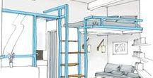 MONTAIGNE / Rénovation d'un studio dans le 17ème arrondissement. Tout confort, tout compris!