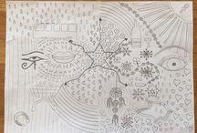 Tekeningen-drawings / Tekeningen made@tammie
