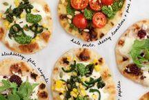 Naan pizza idea