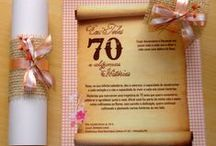 Convite aniversário adulto