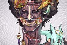 ILLUST / Artwork & Illust & Concept art style