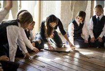 """Group 26: History Pinterest Board / - Trimester 2 2016: EDSS379/EDSS279 Primary School Society and Environment;  - Year 4;  - NSW Syllabus for the Australian Curriculum: History K-10 Syllabus;  - Stage 2: """"First Contacts"""";  - """"Students will: describe and explain the effects of British colonisation in Australia (HT2-4)""""."""