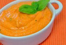 *Brotaufstriche, Dips / vegetarische Brotaufstriche und Dips - Rezepte