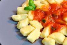 *Gnocchi / Gnocchi - vegetarische Rezepte