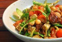 *Salat / vegetarische Salat-Rezepte