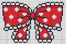 Cross Stitch/ strijkparels / by Ilka DG