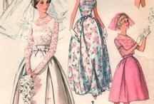 vintage wedding patterns / by Marilyn Malone