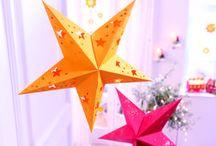 Weihnachtliche Bastelideen / wunderschöne Weihnachtsbasteleien der Sachenmacher!