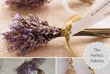 Grey-lavender summer wedding