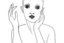Fashion Illustration by Elina Holley