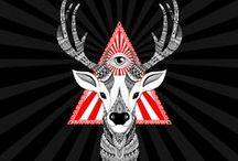 """Art et Be - Série """"Zoo & Be"""" / Dessins réalisés à la main © Sabrina Beretta - Art et Be  Site : http://artetbe.fr/    Facebook : http://facebook.com/artetbe Tous droits réservés"""