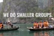 Group Tours for 30-45s / We are experts in small group travel & tailor-made holidays. Far from your average travel company, we're all about smaller-sized group trips, designed especially for 30-45 somethings – but no fear, we love a mature 20 something and a keen 50 something too!