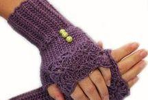 Crochet & Knitting Gloves...