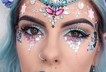 Festival Fever! / Festival beauty and lash style ideas. Boho, hippy, pretty and adventurous looks perfect for summer, festivals, and wherever you need to bring the glitterati!