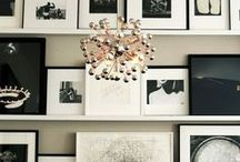 HOME - gallery wall