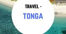 Travel - Tonga / Travel inspiration for Tonga. Swimming / snorkeling with Humpback Whales.