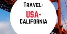 Travel- USA- California / Travel inspiration for the state of California in the USA. What to do, where to go, where to eat and itinerary ideas.