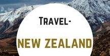 Travel- New Zealand / Travel inspiration for New Zealand - where to go, what to do, where to stay, working holiday advice and tips, itinerary idea, Lord of the Rings and The Hobbit tourist attractions, hiking and camping.