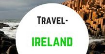 Travel- Ireland / Travel inspiration for Ireland and Northern Ireland. What to do, where to go, what to eat and where to stay. Game of Thrones and Star Wars filming locations. Itinerary guides and tips. Dublin. Kerry. Belfast. Giants Causeway and more...