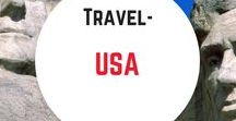 Travel- USA / Travel inspiration and tips for the USA. What to do, where to go, what to eat and where to stay in America and itinerary ideas.
