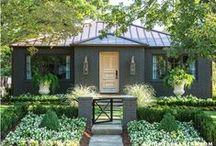 on the outside / exterior home inspiration / by Megan Mills