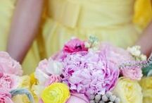Yellow Weddings / Ideas for weddings with a yellow theme