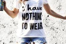 Ropita que acompañaría mi estilo ;)