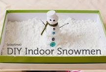 Snow Day Fun / Stuck inside? Here are some great games, activities and ideas whether it's the cold, snow or rain that's keeping you from your outdoor adventures.